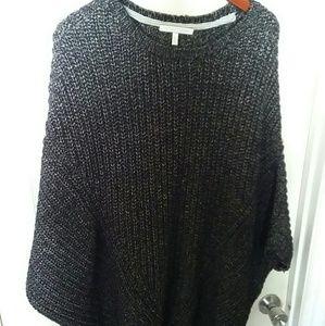 Victoria secret pancho like sweater